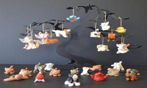 clay figurine animals